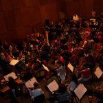 Ensayo de Taracea, Orquesta Joven de Andalucía, Director: Michael Thomas, Festival de Música Española de Cádiz 2007