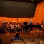 Juan Cruz-Guevara trabajando con José Miguel Rodilla y la Orquesta de la Región de Murcia